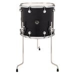 "Drum Workshop 16"" x 14"" Performance Series Floor Tom - Ebony Stain - New,Ebony Stain"