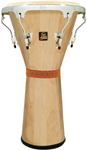 LP LPA630-AWC Aspire Tunable Djembe, Natural/Chrome