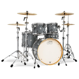"Drum Workshop Design Series Maple 22"" 5-Piece Shell Pack - Steel Gray - New,Steel Gray"