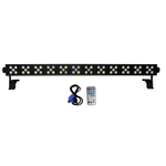 Xstatic DAZZLER Bar with 60x 3W RGBWA LED for Uplighting Stage Club Bar - Black