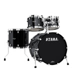 "Tama Starclassic Walnut/Birch 4-Piece 22"" Lacquer Shell Pack - Piano Black - New,Piano Black"
