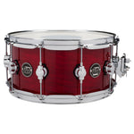 "Drum Workshop 14"" x 6.5"" Performance Series Maple Snare Drum - Cherry Stain - New,Cherry Stain"