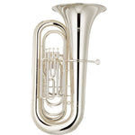 Yamaha YBB-321SWC Silver Tuba With Case