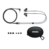 Shure SE215-K Sound Isolating Earphones - Black - New,Black