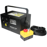 UNO Laser BERMUDA RGB ILDA TTL 1W Full Color Animation Laser - Black