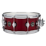 "Drum Workshop 14"" x 5.5"" Performance Series Maple Snare Drum - Cherry Stain - New,Cherry Stain"