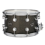 "Drum Workshop 14"" x 8"" Performance Series Maple Snare Drum - Pewter Sparkle - New,Pewter Sparkle"