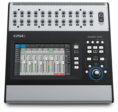 QSC Touchmix-30 Pro 32-Channel Compact Touchscreen Digital Mixer - New