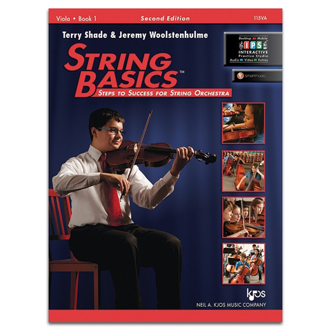 Kjos Music String Basics for Viola - Book 1