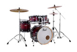 "Pearl Decade Maple 5 Piece Drum Shell Pack w/ 22"" Kick - Gloss Deep Red Burst - New,Gloss Deep Red Burst"