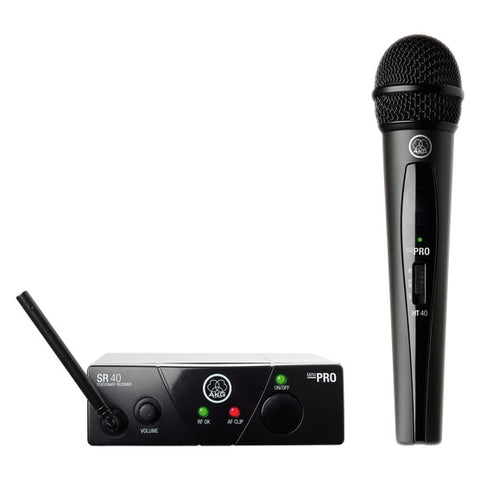 AKG WMS40MINI Single Vocal Set BD US25A Wireless Handheld Microphone System