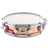 "Drum Workshop 14"" x 4"" Collector's Series Copper Snare Drum With Chrome Hardware"