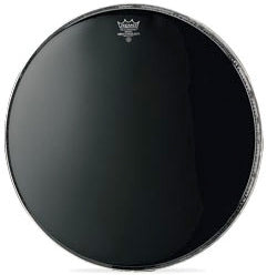 "Remo 24"" Ebony Ambassador Bass Drum Head"