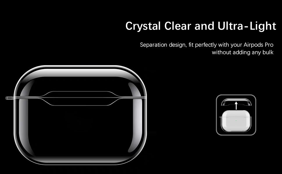 Airpods clear case for Airpods pro