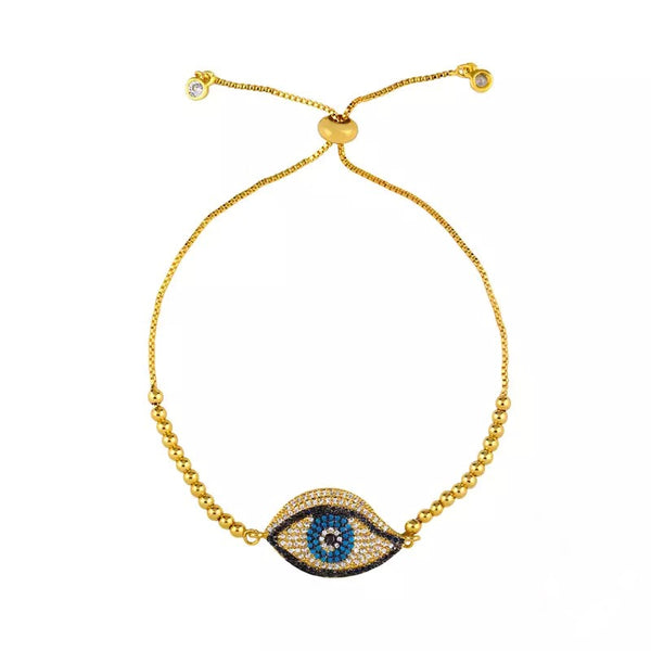 Evil Eye Bracelet Entwined