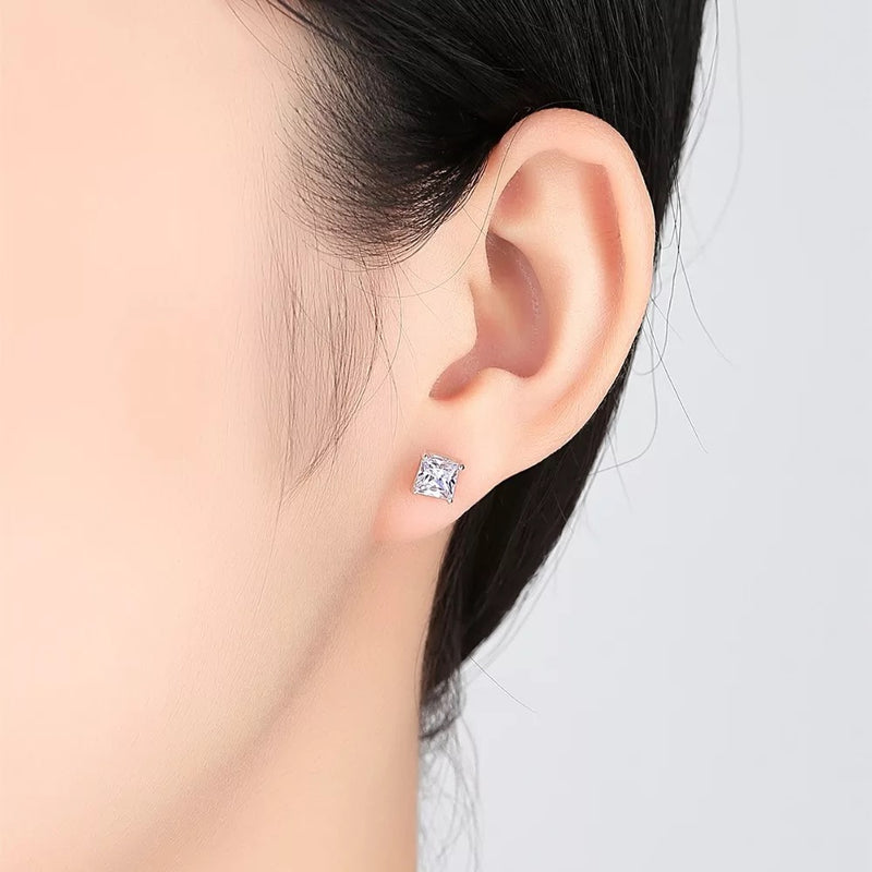 Serene 925 silver Stud Earrings