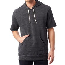 Load image into Gallery viewer, Short Sleeve Eco-Fleece Hoodie