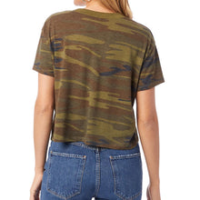Load image into Gallery viewer, Lyssa's Eco-Friendly Camo Cropped Tee