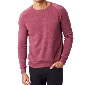 """The Men's Crew"" French Terry Eco-Fleece Sweater"