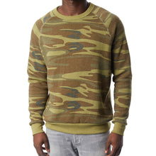 "Load image into Gallery viewer, ""The Men's Crew"" French Terry Eco-Fleece Sweater"
