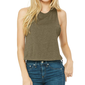 """The Summertime"" Cropped Tank"