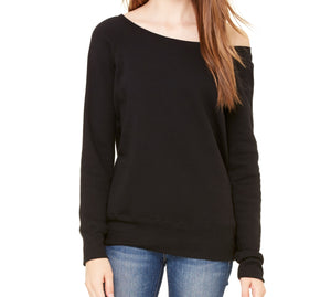 Lyssa's Wide Neck Plush Sweatshirt