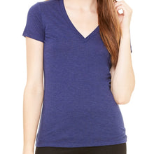 Load image into Gallery viewer, Lyssa's Deep V Tri-blend Tee