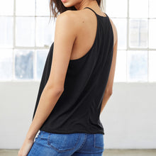 Load image into Gallery viewer, Lyssa's Flowy High Neck Paradise Tank