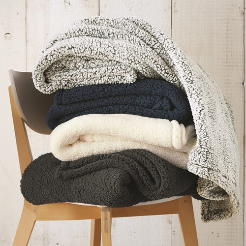 """Throw Me Love"" Sherpa Blanket"