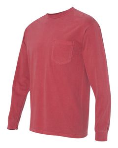 Men's Soft and Easy Garment Dyed Long Sleeve Tee