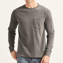 Load image into Gallery viewer, Men's Soft and Easy Garment Dyed Long Sleeve Tee