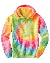 Load image into Gallery viewer, Lyssa's Tie-Dyed Unisex Galaxy Hoodie