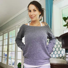 Load image into Gallery viewer, Lyssa's Wide Neck Plush Sweatshirt
