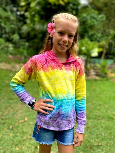 Mady's Island Dreams Tie-Dyed Hoodie