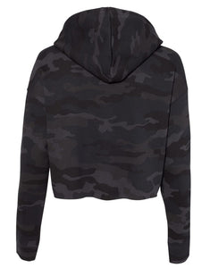 Lyssa's Cropped Camo Hoodie