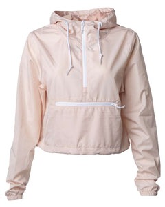 Lyssa's On-The-Go Lightweight Crop Windbreaker