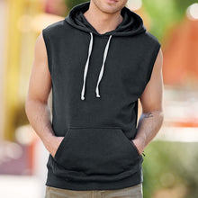 Load image into Gallery viewer, Men's Sleeveless GO TO Hoodie