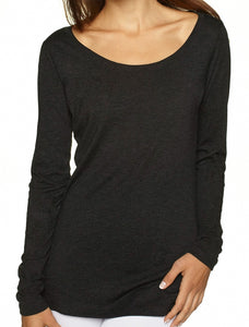 Lyssa's Long Sleeve Scoop Neck Tee