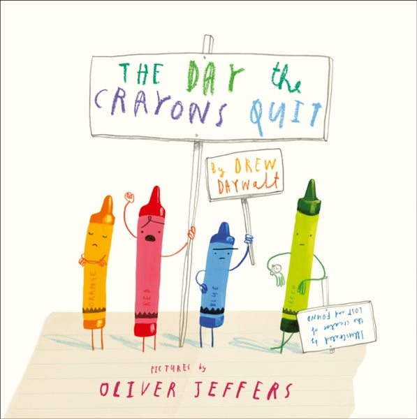The Day The Crayons Quit-9780007513765