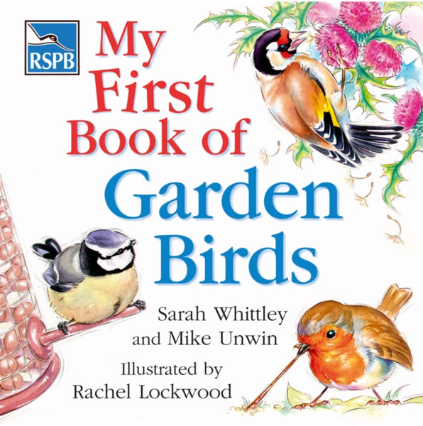 RSPB My First Book of Garden Birds-9780713676785