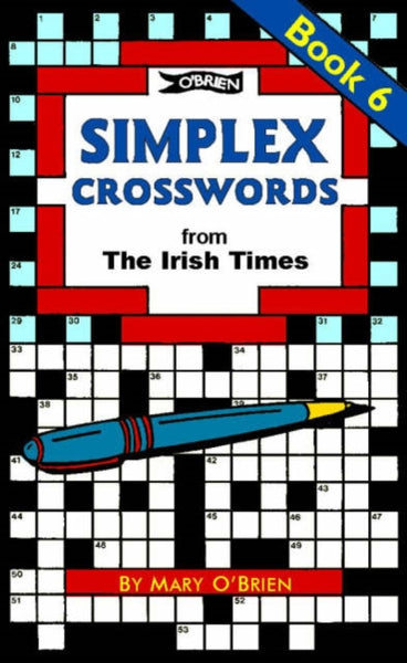 Simplex Crosswords Book 6 : from The Irish Times-9780862786694
