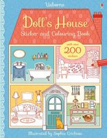 Doll's House Sticker and Colouring Book-9781409597490