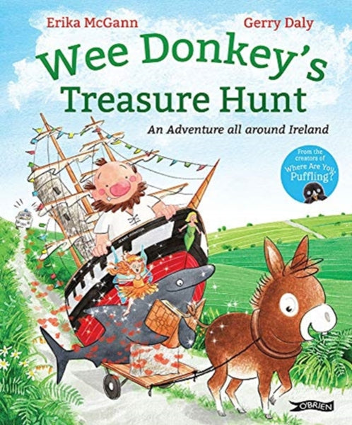Wee Donkey's Treasure Hunt : An adventure around Ireland-9781788491808