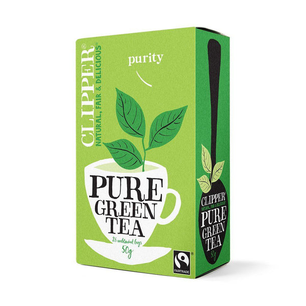 Organic Pure Green Tea (25 bags)