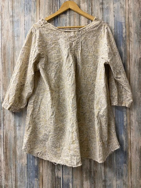 Hand Block Blondi Blouse