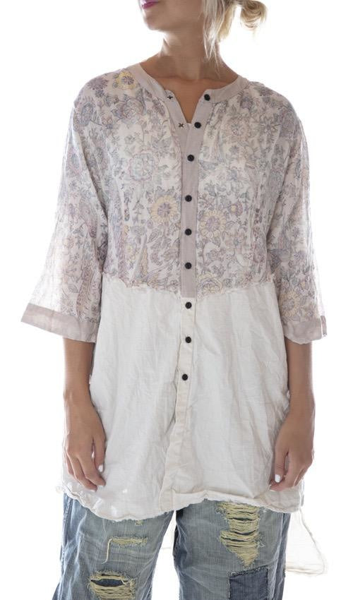 Cotton Twill Sybeal Chemise Dress