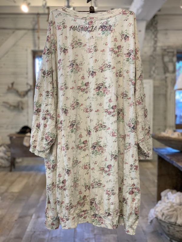 Floral Print Francis Pullover T