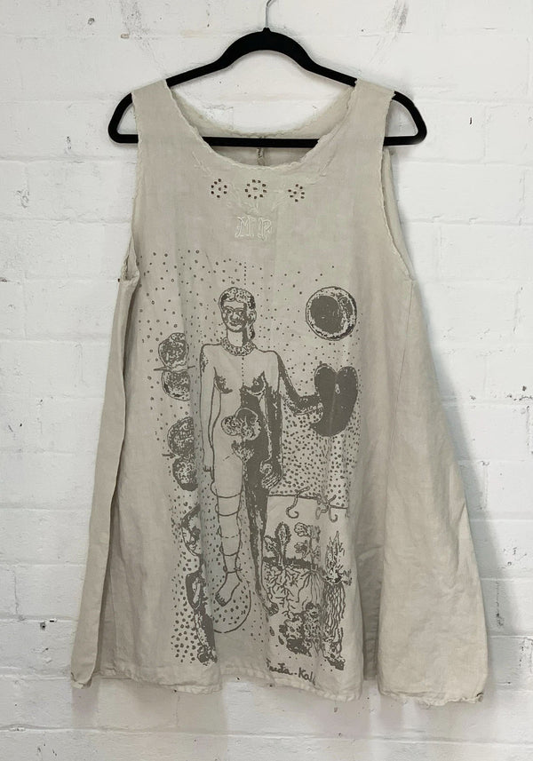 Frida Tears Smock Dress