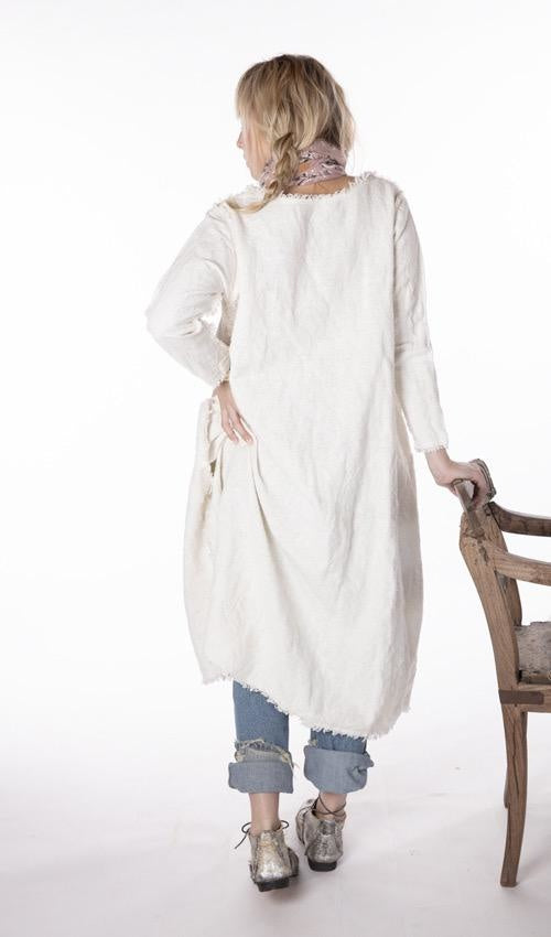 Hand Woven Cotton Linen Grace Dress