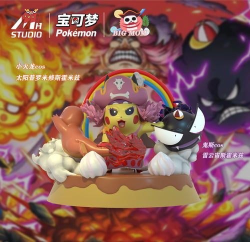 Big Mom Cosplay Pikachu - Pokemon Resin Statue - MH Studios [Pre-Order]